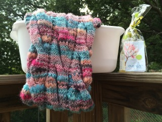 How to wash your knit and crochet pieces, a tutorial by April Garwood of Banana Moon Studio