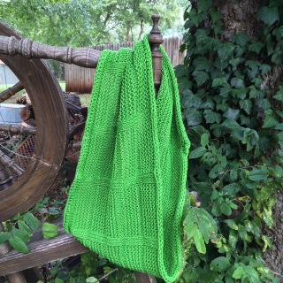 Easy knitting pattern, free knitting pattern, knit cowl pattern by April Garwood of Banana Moon Studio