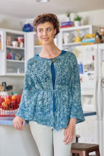 Book of crochet lace patterns by Kristin Omdahl, review by April Garwood of Banana Moon Studio
