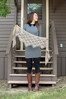 Emergence Shawl by Kathryn White for Interweave Crochet