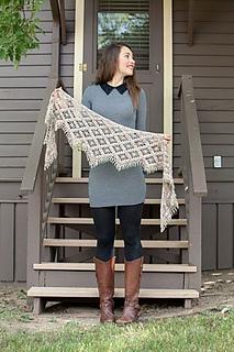 Emergence Shawl by Kathryn White for Interweave Crochet