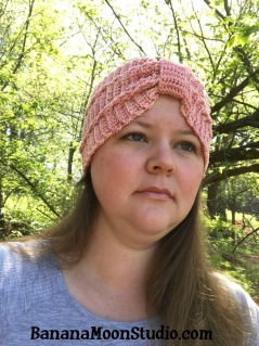 Crochet headband pattern by April Garwood of Banana Moon Studio