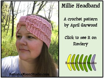 Millie headband ad