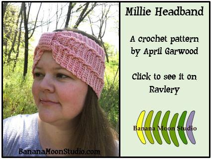 Millie headband ad