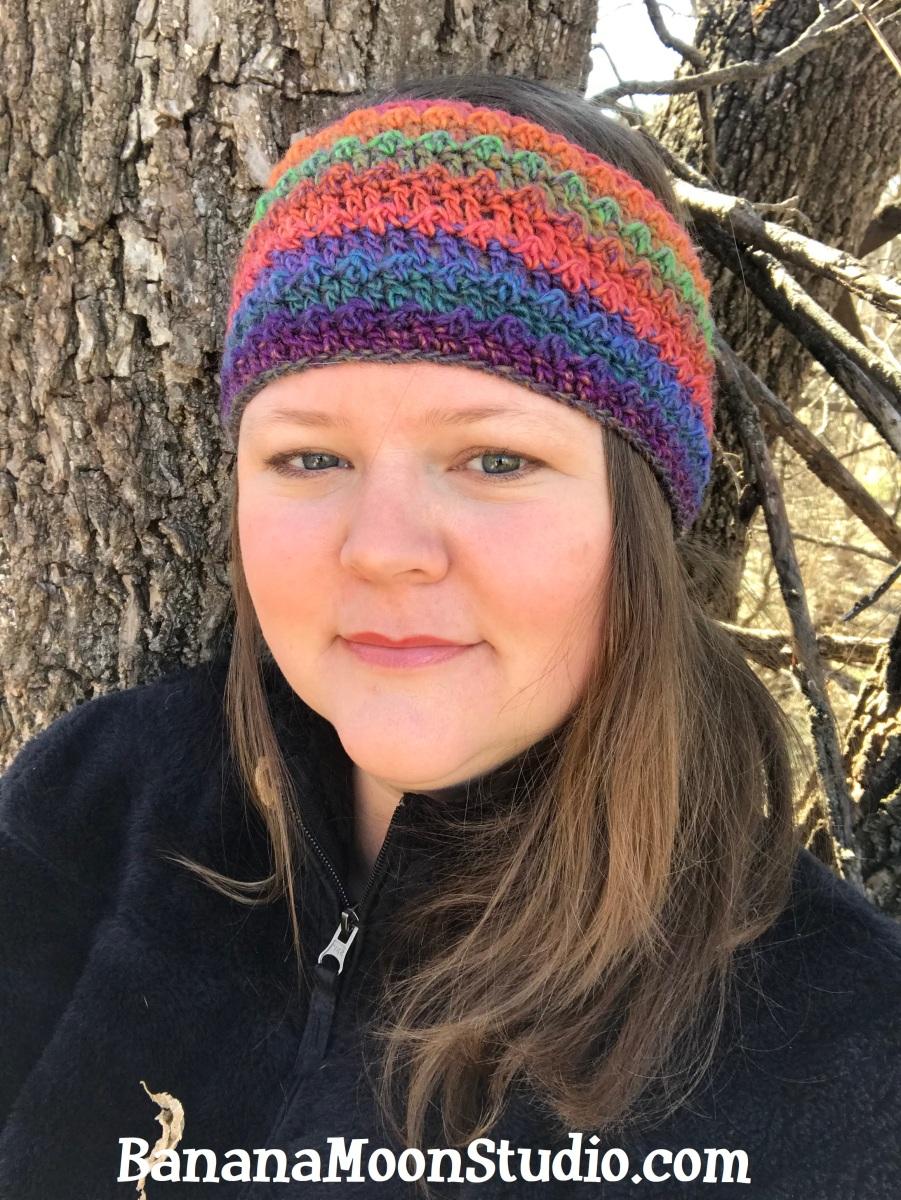 Free Crochet Headband Pattern Asterid Headband Banana Moon Studio
