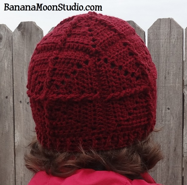 Giant Redwood Cap, a Free Crochet Hat Pattern from Banana Moon Studio