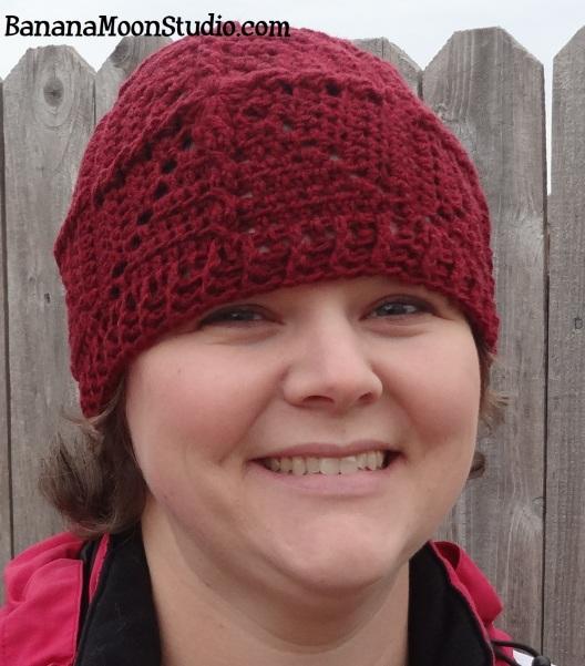 Giant Redwood Cap, Free Crochet Hat Pattern from Banana Moon Studio