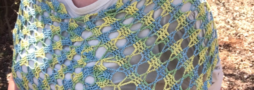 Final Join of the Pensacola Poncho, video tutorial from Banana Moon Studio