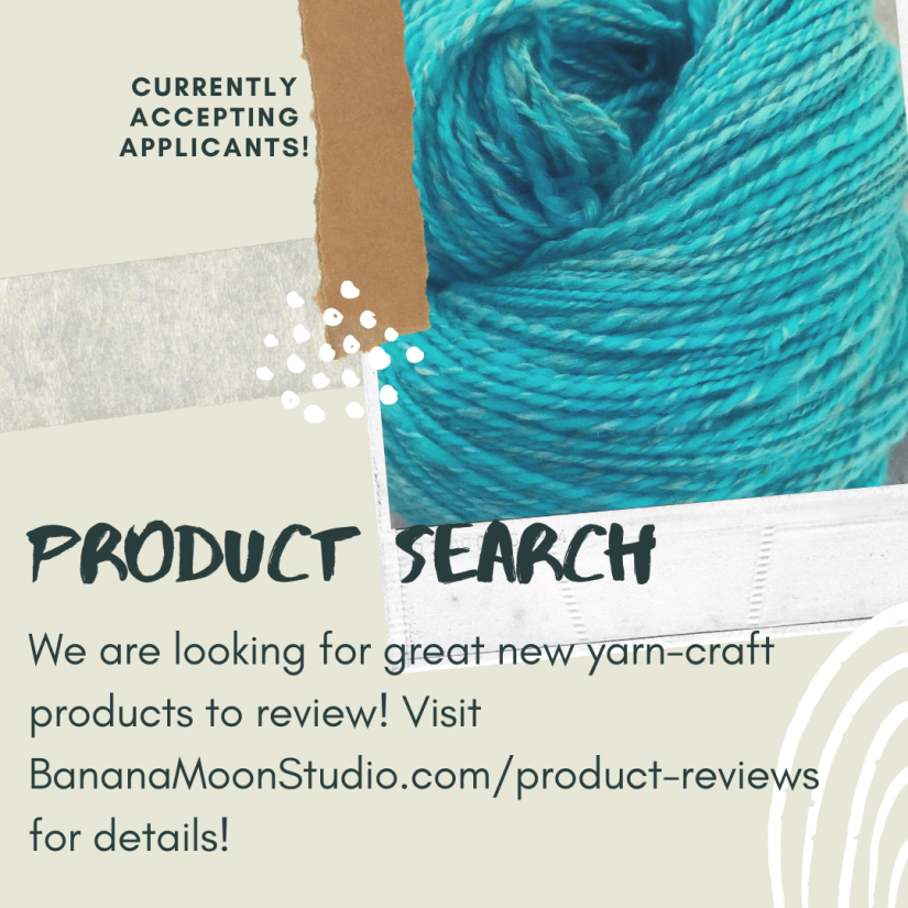 Do you have yarn-craft products to advertise? Let's collaborate to advertise your product and promote my website!